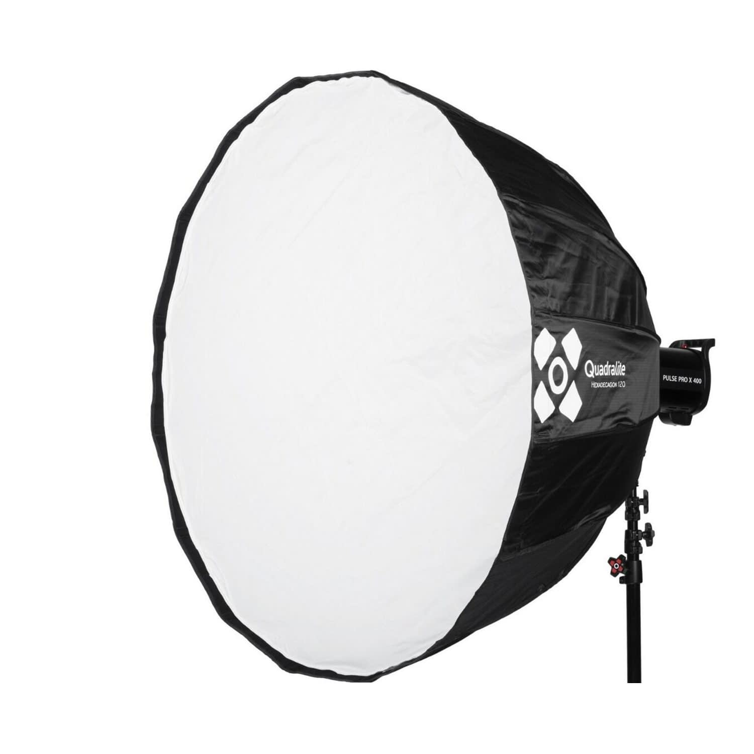 120cm Quadralite Hexadecagon Softbox